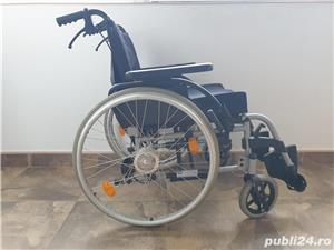 Carucior handicap cu rotile - imagine 1