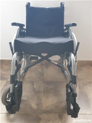 Carucior handicap cu rotile - imagine 2