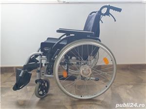 Carucior handicap cu rotile - imagine 5