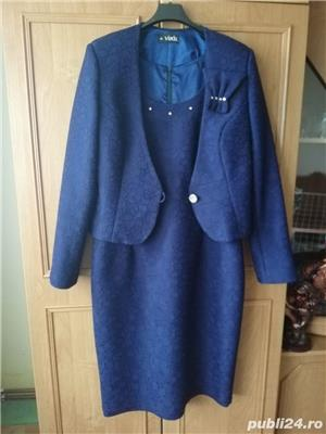 Vând rochie cu sacou mărimea 46 - imagine 1