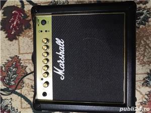 Chitara electrica Ibanez GRX70QA-TBB. Marshall MG15GR - Amplificator Chitara 15W - imagine 4