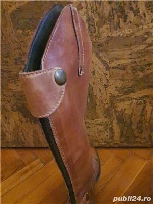 Vand cizme de piele - imagine 5