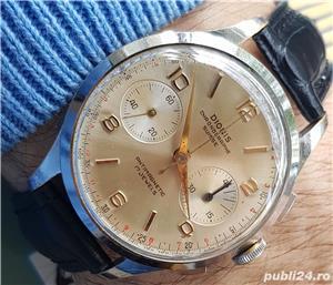 DIONIS ceas cronograf rar, cal elvetian Landeron 248 , 17 rubine - imagine 1