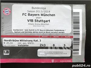 VAND bilet finala UEFA2012, bilet BAYERN-STUTTGART 2014, card BAYERN - imagine 3