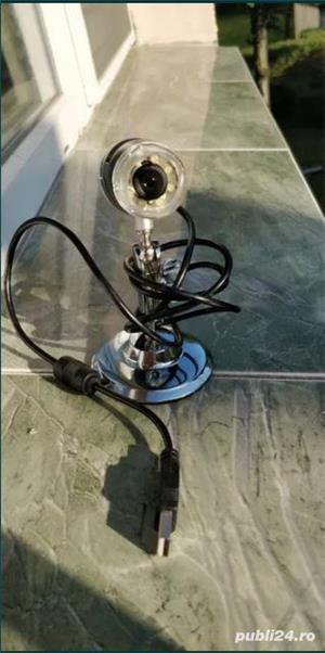 Camera video microscopica Vimicro usb 2.0 uvc pc camera (Proxima) 2MP/ 800x / 8 led - imagine 2
