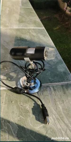 Camera video microscopica Vimicro usb 2.0 uvc pc camera (Proxima) 2MP/ 800x / 8 led - imagine 4