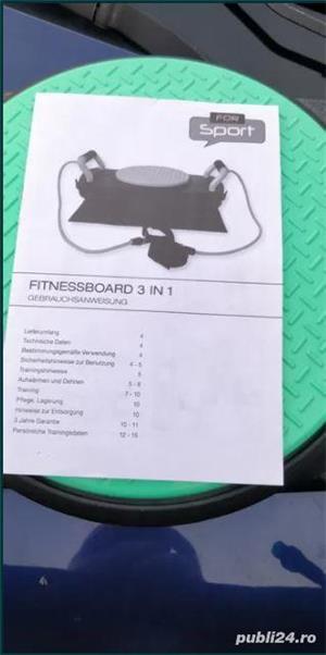 fitnessboard 3-in-1 FOR SPORT/Stepper echilibru - imagine 2