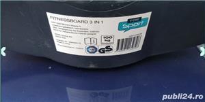 fitnessboard 3-in-1 FOR SPORT/Stepper echilibru - imagine 1