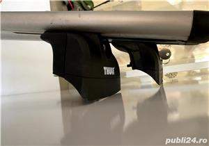 Thule Aero Wingbar + Thule Rapid System 753Vand kit Thule compus din Thule Aero Wingbar 961 (118mm), - imagine 3