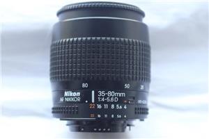Nikon  NIkkor 35-80mm 4-5,6 D - imagine 1