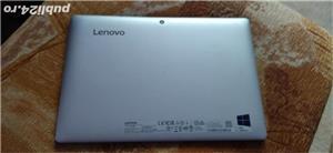 Tableta Lenovo IdeaPad Miix 310 cu Windows 10 Pro, 10.1 Inch, Intel X5, 4GB RAM, Stocare 64GB SSD M2 - imagine 2
