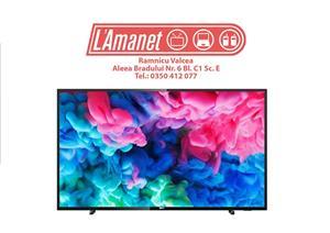 "TV Led Smart 43"" Philips 43PUS6503/12 108cm DVB-C CI+ USB FullBox Ca Nou - imagine 1"
