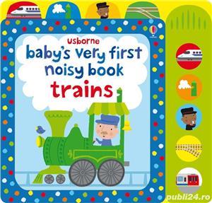 Baby's Very First Noisy Book Trains - Usborne - imagine 1