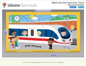 Baby's Very First Noisy Book Trains - Usborne - imagine 4