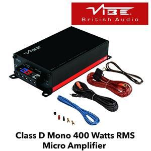 Amplificator Auto Mono Vibe PowerBox 400.1M-V7 400W RMS - imagine 1