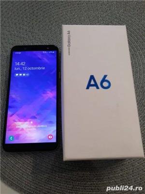 Samsung Galaxy A6 2018 Gold 32Gb Dual Sim cu factura si garantie - imagine 1