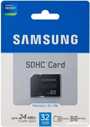Micro SDHC Samsung Evo Plus Koreea, ,rescriere CID navigatie auto - imagine 4