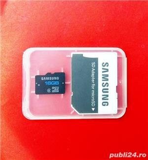 Micro SDHC Samsung Evo Plus Koreea, ,rescriere CID navigatie auto - imagine 2