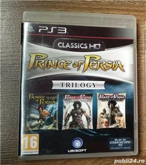 Joc PS3 Prince of Persia Trilogy in HD Playstation 3  Pachetul Prince of Persia Trilogy 3D contine u - imagine 1