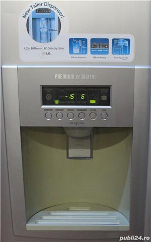 Frigider LG Side by Side, Dispenser, Clasa A - imagine 2