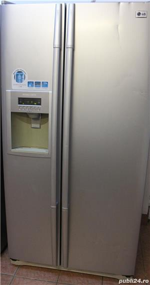 Frigider LG Side by Side, Dispenser, Clasa A - imagine 1