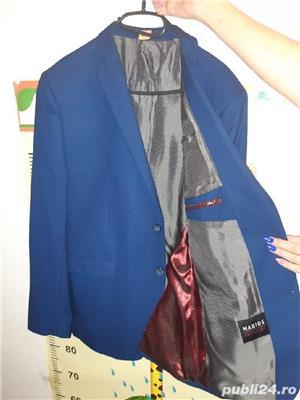 Costum barbat albastru - imagine 2