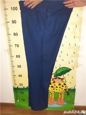 Costum barbat albastru - imagine 4
