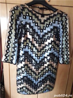 rochie cu paiete - imagine 1