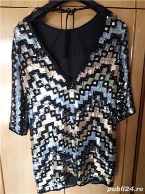 rochie cu paiete - imagine 5