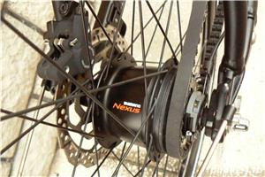 Bicicleta trekking Rabeneick transmisie pe curea - imagine 3