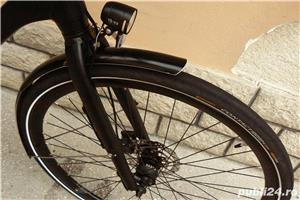 Bicicleta trekking Rabeneick transmisie pe curea - imagine 2