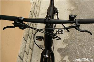 Bicicleta trekking Rabeneick transmisie pe curea - imagine 5