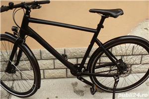Bicicleta trekking Rabeneick transmisie pe curea - imagine 4