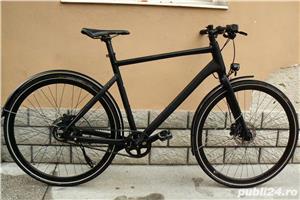 Bicicleta trekking Rabeneick transmisie pe curea - imagine 1