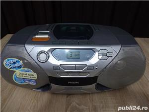 Radio casetofon cu CD Philips - imagine 1
