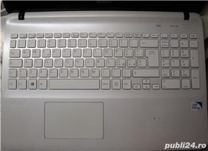 Dezmembrez Laptop SONY Vaio SVF152C29M (placa defecta) Toate componentele de carcasa - imagine 1