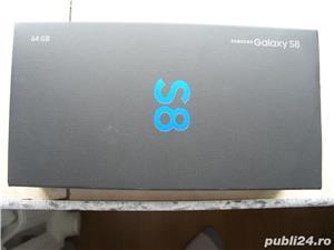 Samsung Galaxy S8 Black Edition ca NOU in cutie Fullbox Liber 64 GB  - imagine 2