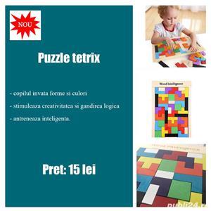 Jucarii educative Montessori din lemn - imagine 1