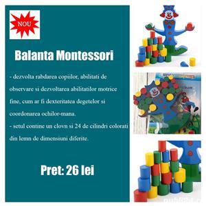 Jucarii educative Montessori din lemn - imagine 5