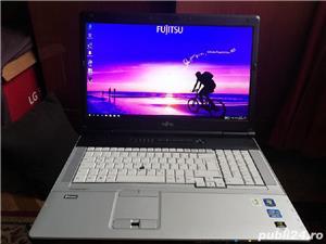 Laptop workstation Fujitsu Siemens celsius h910 video pe slot  - imagine 1