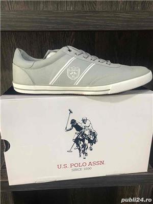Lot 5 Perechi de Tenisi US Polo - imagine 4