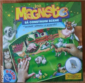 Joc magnetic NOU de la D-Toys Animale Domestice si Salbatice - imagine 1