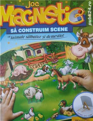 Joc magnetic NOU de la D-Toys Animale Domestice si Salbatice - imagine 5