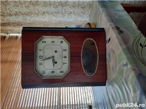 Ceas vintage de perete cu pendul rusesc - imagine 1