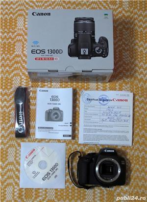Vind aparat foto Canon EOS 1300 D body - imagine 4