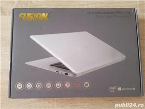 "Nou Laptop Fusion T90B Pro FullHD IPS 14.1"" SSD 256Gb + 64Gb Vostro - imagine 2"