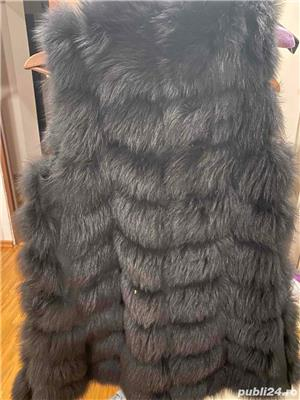 Vesta de blana naturala - imagine 2