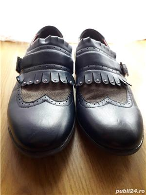 Ghete Pantofi Benvenuti design deosebit  - imagine 3