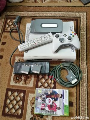 X box 360+joystik   +telecomanda+fifa gratis - imagine 4