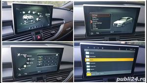 Navigatie cu android dedicata Audi A6 C7 4G / A7 4G 2011-2018 - imagine 2